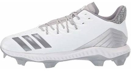 adidas Women's Icon Bounce TPU Cleat White/Grey