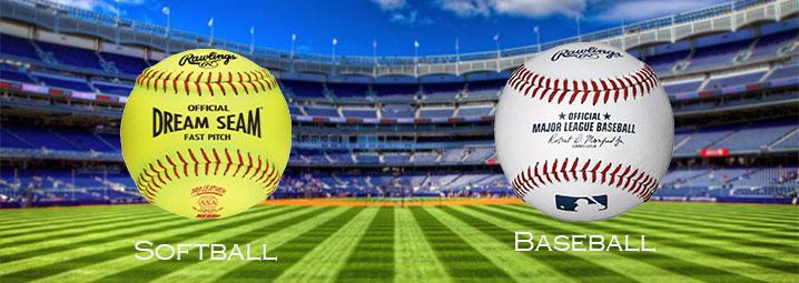 Softball and baseball