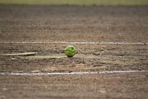 Softball on a field