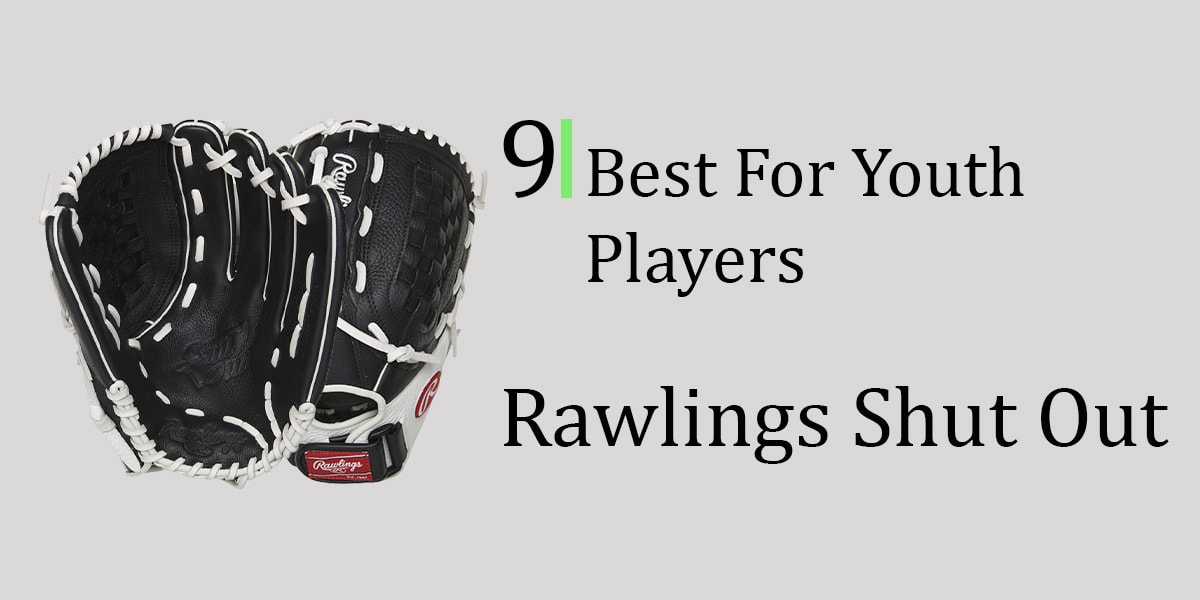 Rawlings Shut Out Fastpitch Youth Glove