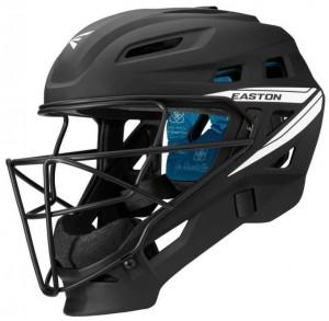 Softball catcher's helmet