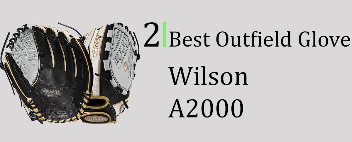 Wilson A2000 Outfield Softball Glove